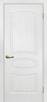 Межкомнатная дверь МАРИАМ Сиена-5, Пломбир, глухая