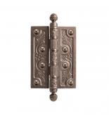 Дверная петля VAL DE FIORI VDF 102-4BB CH серебро античное