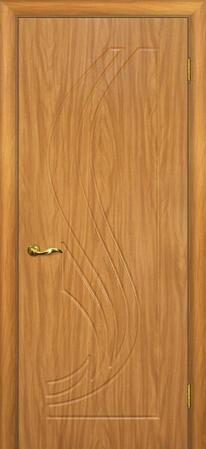 Межкомнатная дверь МАРИАМ Трио, Миланский орех, глухая
