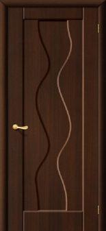 Межкомнатная дверь МАРИАМ Вираж, Венге (Эбен), глухая