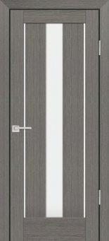 Межкомнатная дверь PROFILO PORTE PS-02, Грей Мелинга со стеклом Сатинат