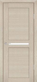 Межкомнатная дверь PROFILO PORTE PS-03, Капучино Мелинга со стеклом Сатинат