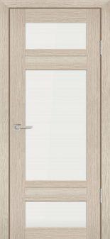 Межкомнатная дверь PROFILO PORTE PS-06, Капучино Мелинга со стеклом Сатинат