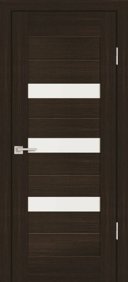 Межкомнатная дверь PROFILO PORTE PS-09, Венге Мелинга со стеклом Сатинат
