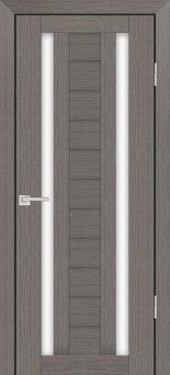Межкомнатная дверь PROFILO PORTE PS-15, Грей Мелинга со стеклом Сатинат