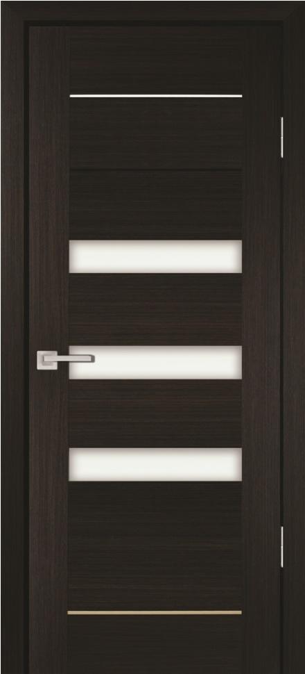 Межкомнатная дверь PROFILO PORTE PS-18, Мокко со стеклом Сатинат