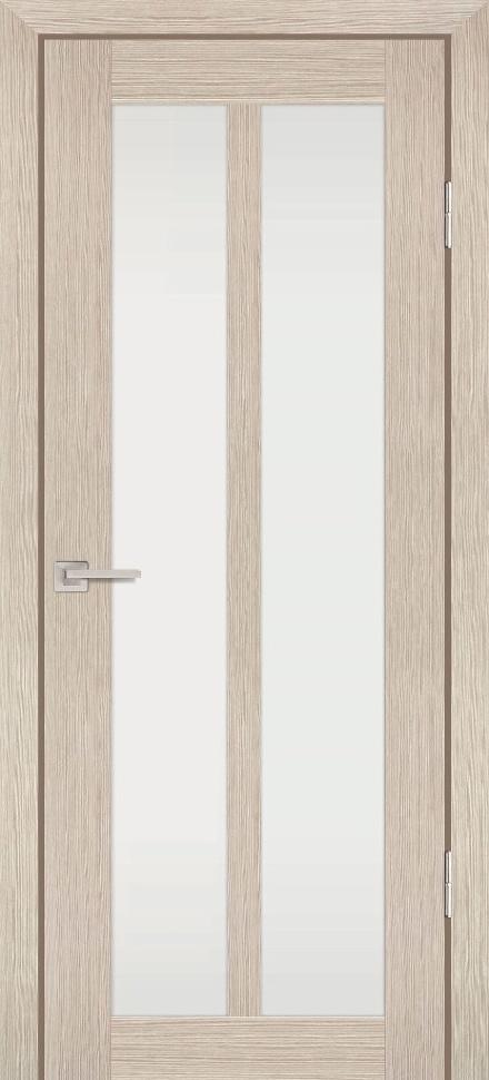 Межкомнатная дверь PROFILO PORTE PS-22, Капучино Мелинга со стеклом Сатинат