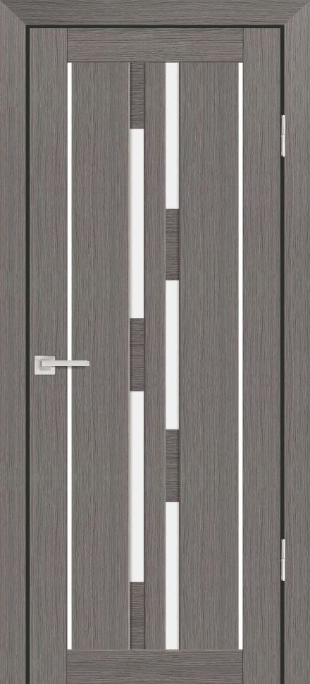 Межкомнатная дверь PROFILO PORTE PS-33, Грей Мелинга со стеклом Сатинат