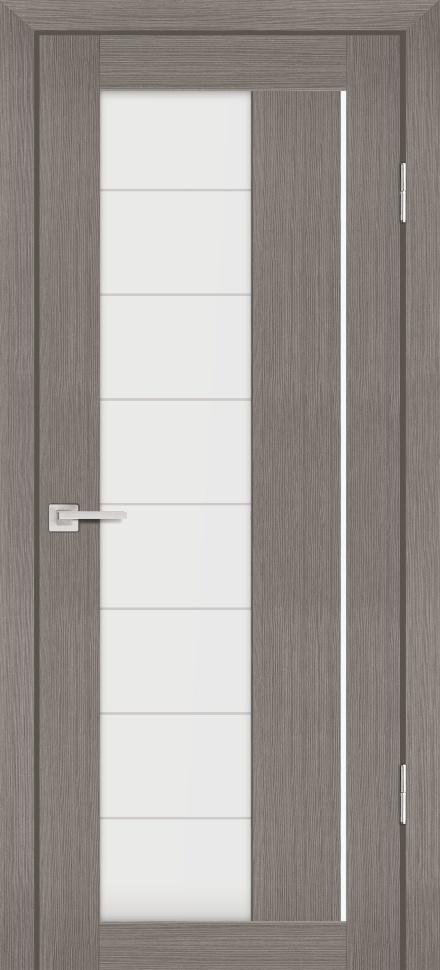 Межкомнатная дверь PROFILO PORTE PS-41, Грей Мелинга со стеклом Сатинат