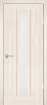 Межкомнатная дверь PROFILO PORTE PSS-02, Перламутровый дуб со стеклом Белый лакобель