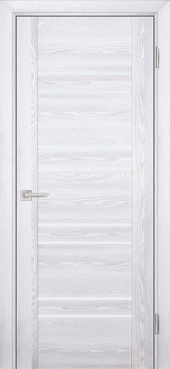 Межкомнатная дверь PROFILO PORTE PSK-1, Ривьера айс со стеклом Белый лакобель