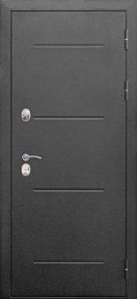 Входная дверь 11 см ISOTERMA Серебро Лиственница беж
