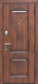 Входная дверь 9,5 см Вена Винорит Патина Белый Матовый