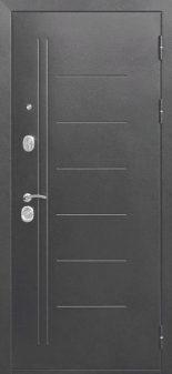 Входная дверь 10 см Троя Серебро Макси Зеркало Венге