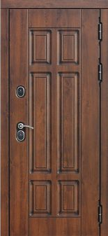 Входная дверь 13 см ISOTERMA Винорит Грецкий Орех