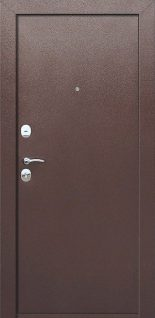 Входная дверь Гарда 8 мм Венге Внутреннее открывание