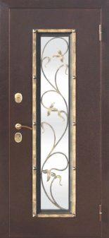 Входная дверь Плющ Венге