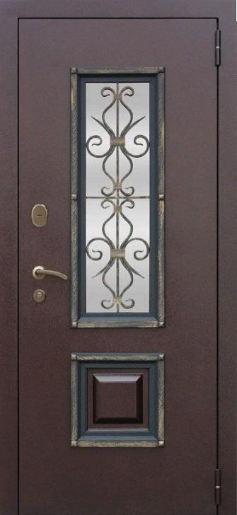 Входная дверь Венеция Белый Ясень