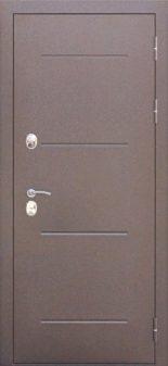 Входная дверь 11 см ISOTERMA Медный Антик мет/мет