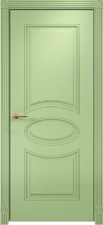 Межкомнатная дверь Оникс Эллипс фрезерованное