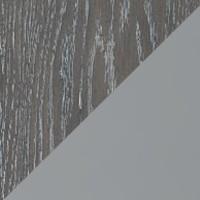 Дуб седой/эмаль по RAL7040 МДФ