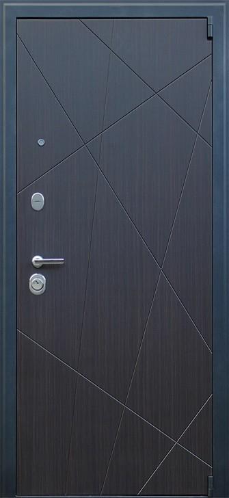 Входная дверь АСД Вектор с зеркалом