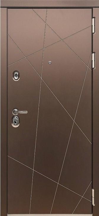 Входная дверь Сударь МД-50 Зеркало