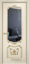 Межкомнатная дверь Оникс Барселона с декором