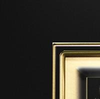 Эмаль черная МДФ патина золото