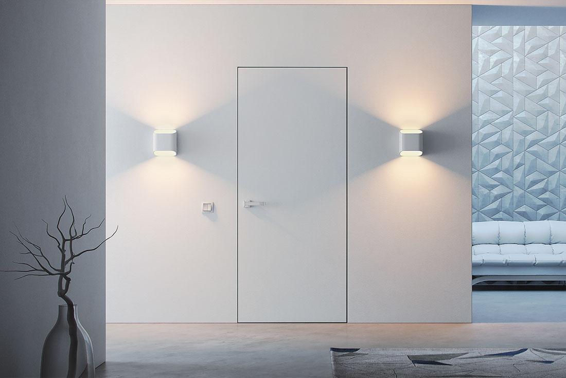 Скрытая дверь