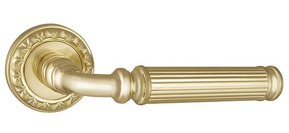 Ручка раздельная BELLAGIO MT SG/GP-4 матовое золото/золото